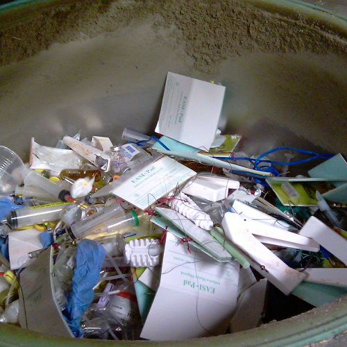 Unsorted Medical Waste